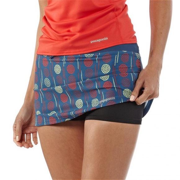 ec955f274 Patagonia💕 Nine Trail Skirt Opal Glass Blue Skort.  M_5a4015208af1c5edf3013e48